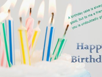 Happy Birthday Cake, Candles, Wishes and Greeting HD Photo
