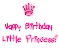 Happy Birthday Little Princess image