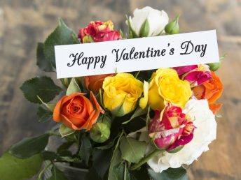 Happy Valentine's Day Flowers